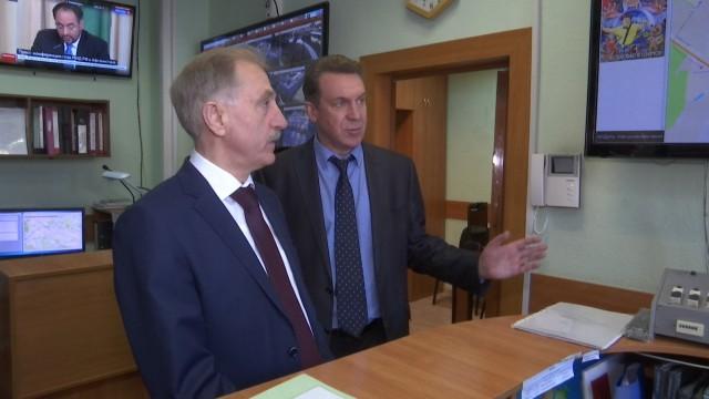 Владимир Ружицкий посетил ЕДДС городского округа Люберцы