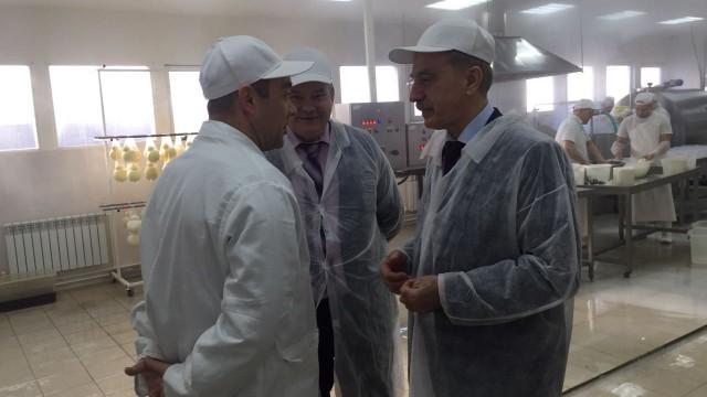 Владимир Ружицкий посетил российско-итальянское предприятие по изготовлению сыров