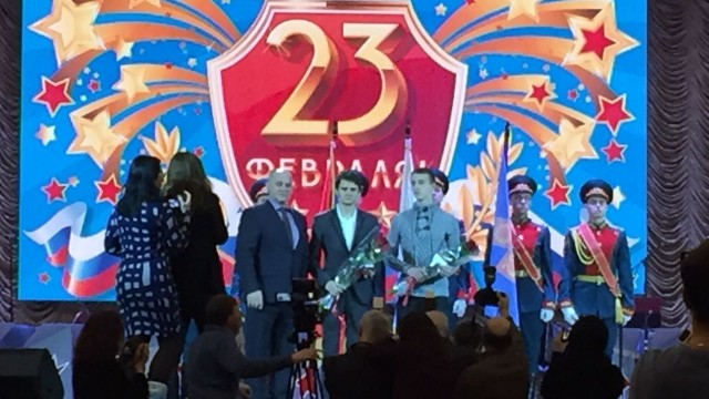 День защитника Отечества отпраздновали в люберецком ДК