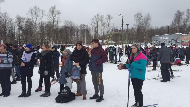 В Люберцах проходит день зимних видов спорта