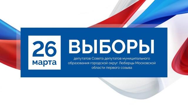 Голосование на избирательных участках в люберецкой школе №9