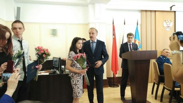 29 мая Глава городского округа Люберцы вручил ключи от квартир детям-сиротам