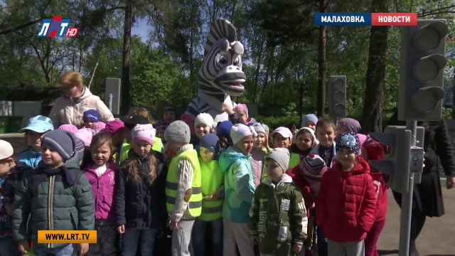Урок ПДД провели в детском саду в Малаховке
