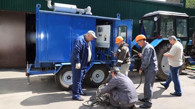 В Томилине прошли командно-штабные учения по ликвидации технологических нарушений на котельной № 7