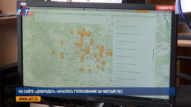 На сайте «Добродел» началось голосование за чистый лес